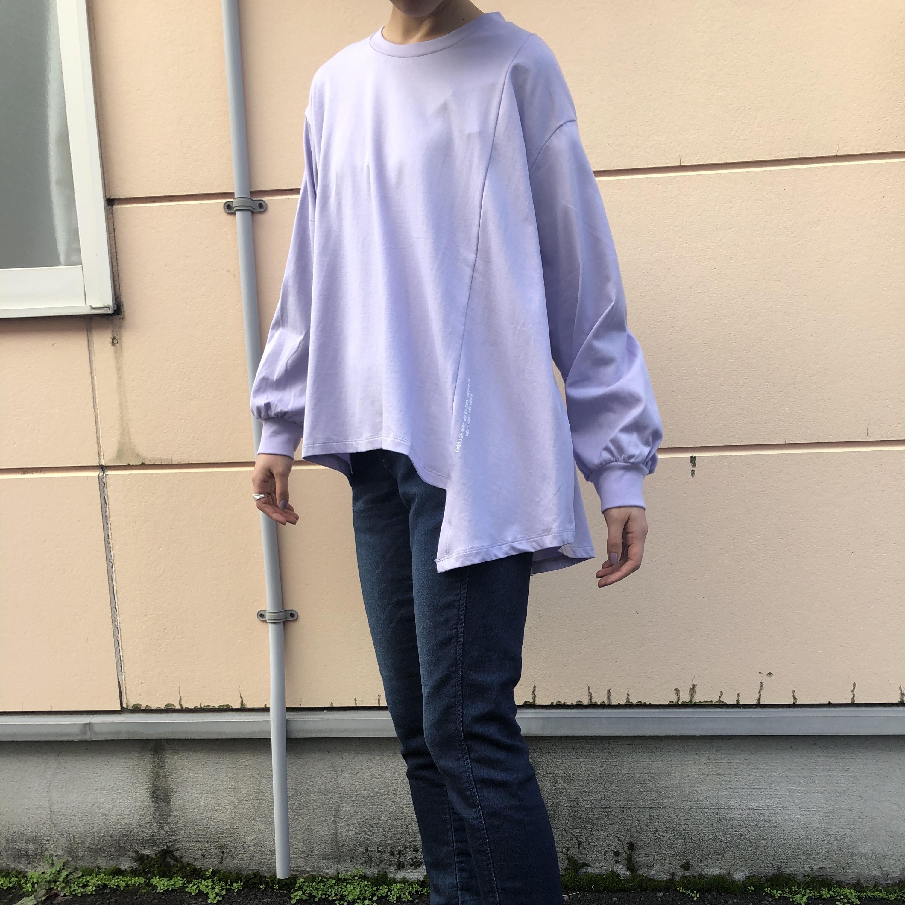 【 ANTGAUGE 】- AB873 - アシンメトリーTシャツ