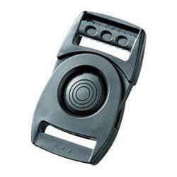 YKK LB38Q バックル 90°回転 プッシュボタン式 黒 1個(この商品単独なら9個まで送料無料)