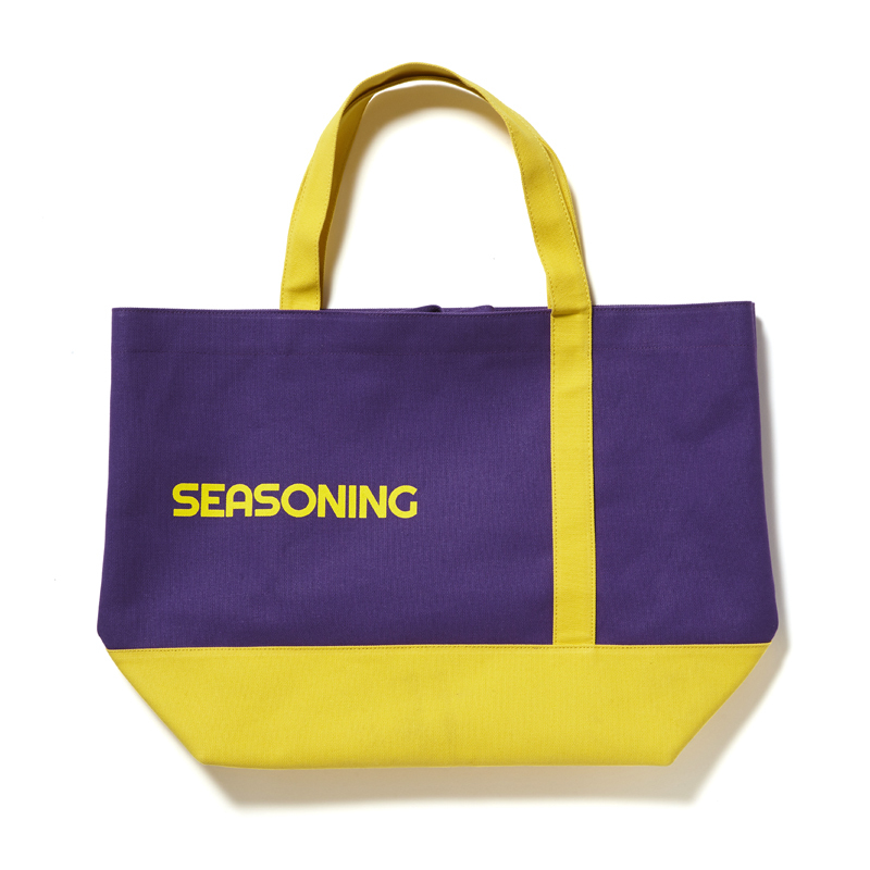 BIG TOTE BAG - PURPLE