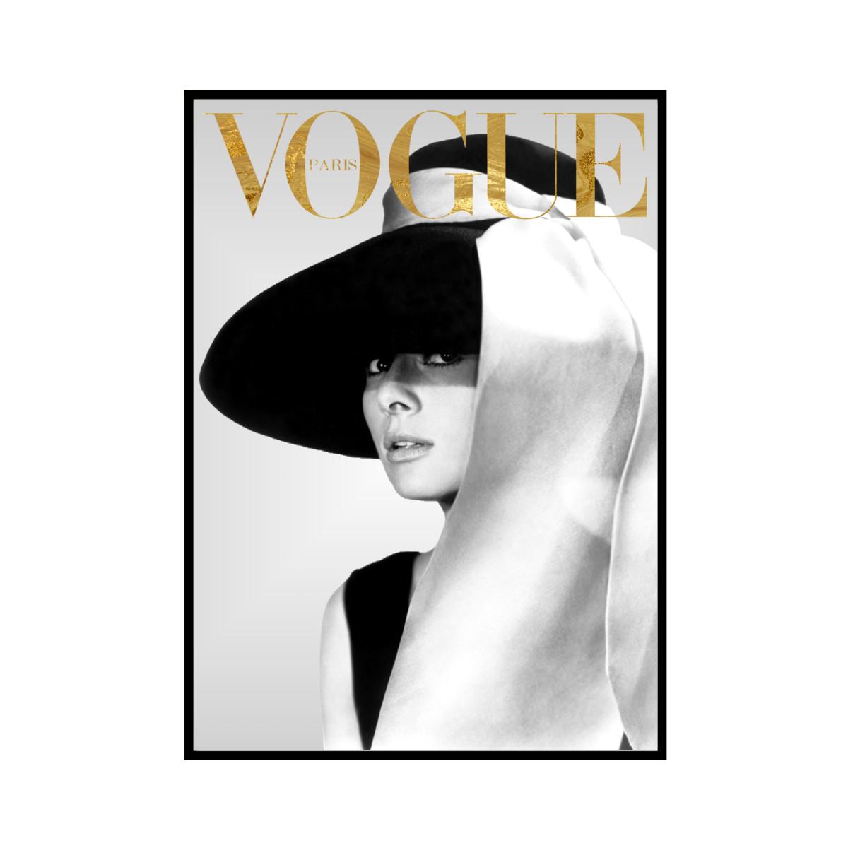 """VOGUE GM"" Audrey Hepburn - VOGUEシリーズ [SD-000578] A4サイズ ポスター単品"