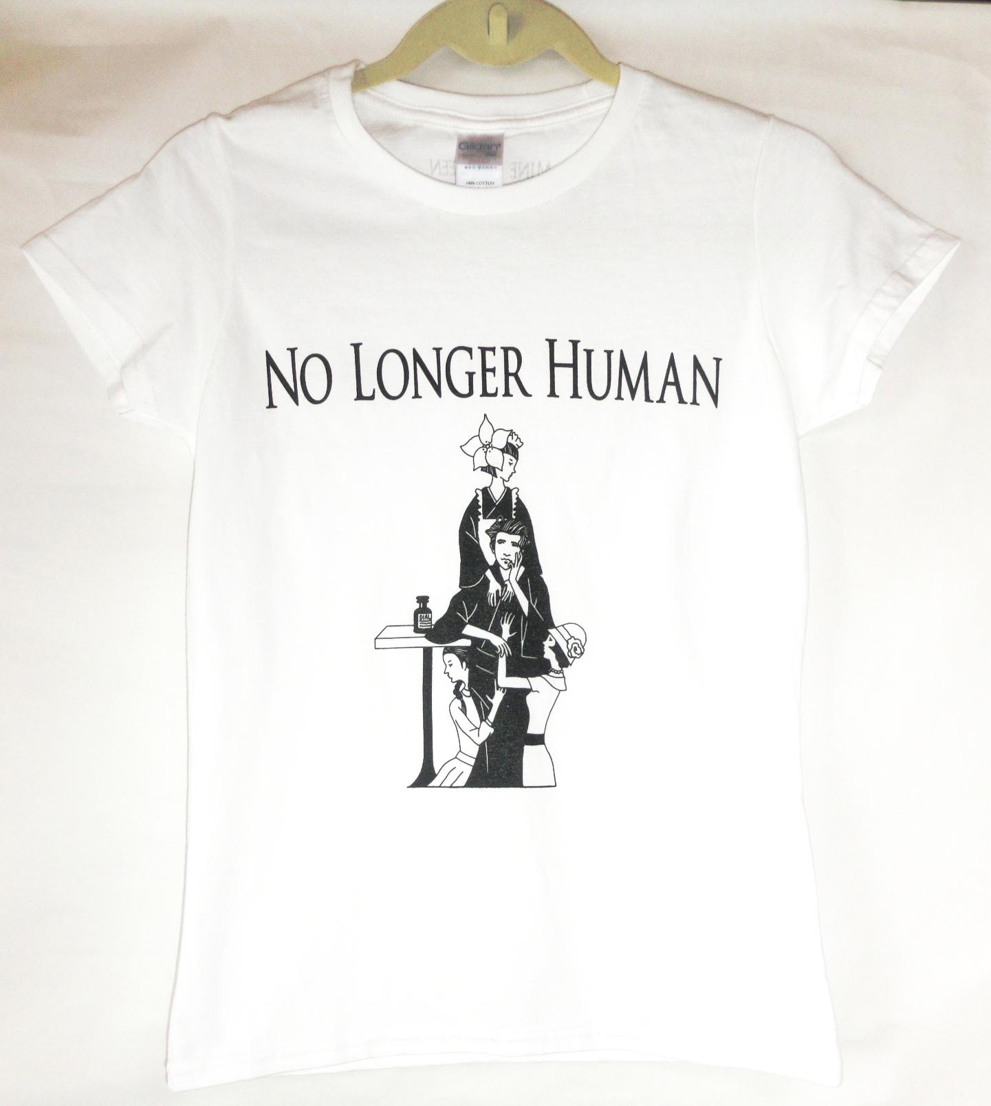 太宰治TシャツB レディースサイズ 色:ホワイト