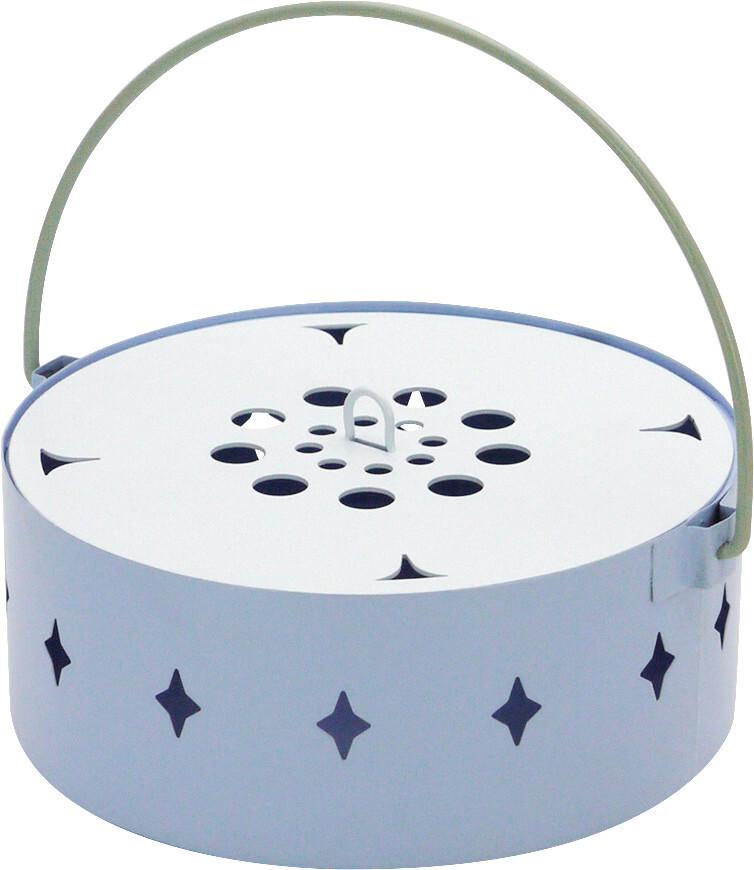蚊遣り箱 flower ブルー