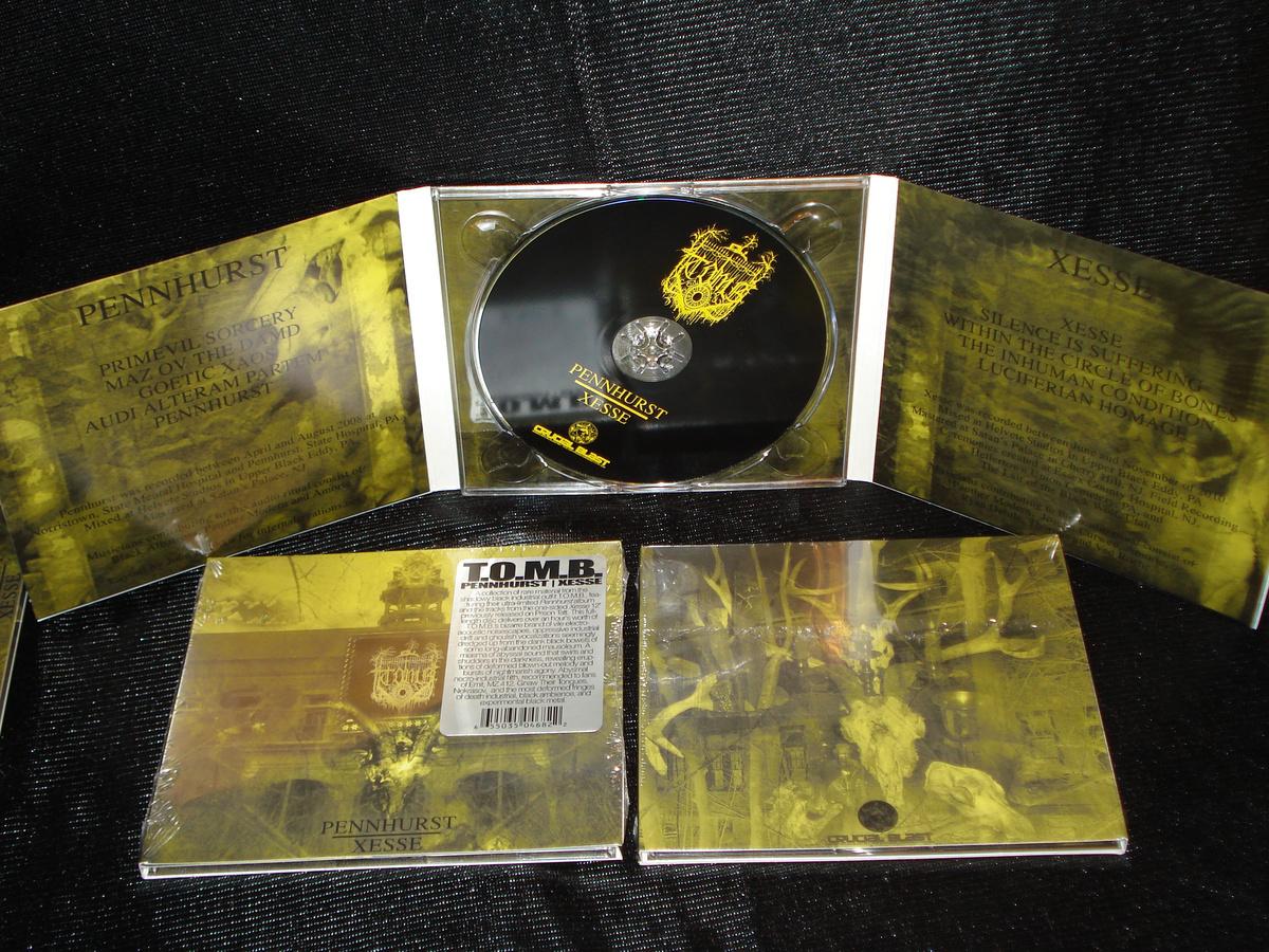 T.O.M.B. - Pennhurst / Xesse  CD - 画像2