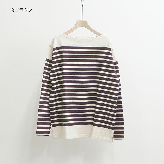 ichi イチ パネルボーダーカットソー (品番190541)