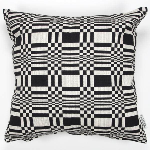 JOHANNA GULLICHSEN Zipped Cushion Cover Doris Black