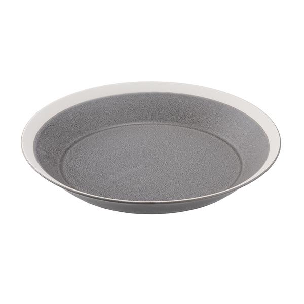 yumiko iihoshi porcelain Dishes プレート220 moss gray matte