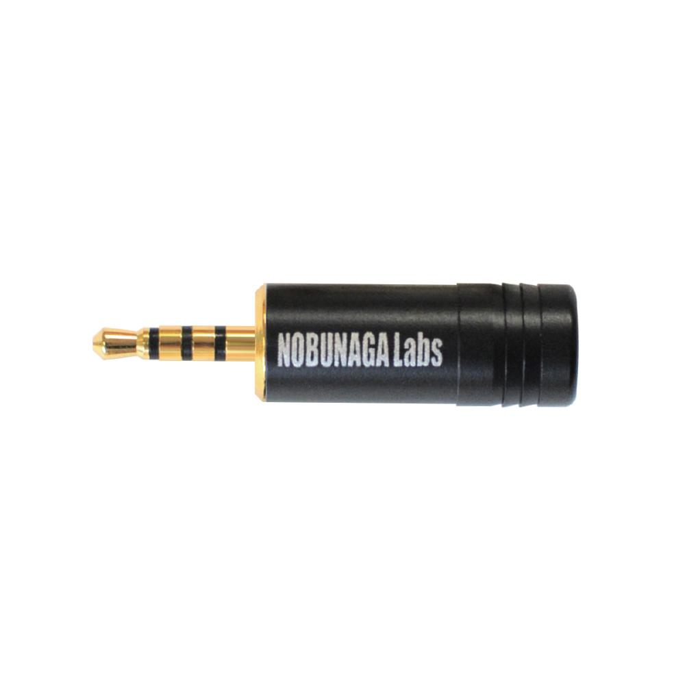 【まとめ買い 5セット 10%割引】2.5mm4極プラグ NLP-PRO-IS2.5/4 :: NOBUNAGA Labs