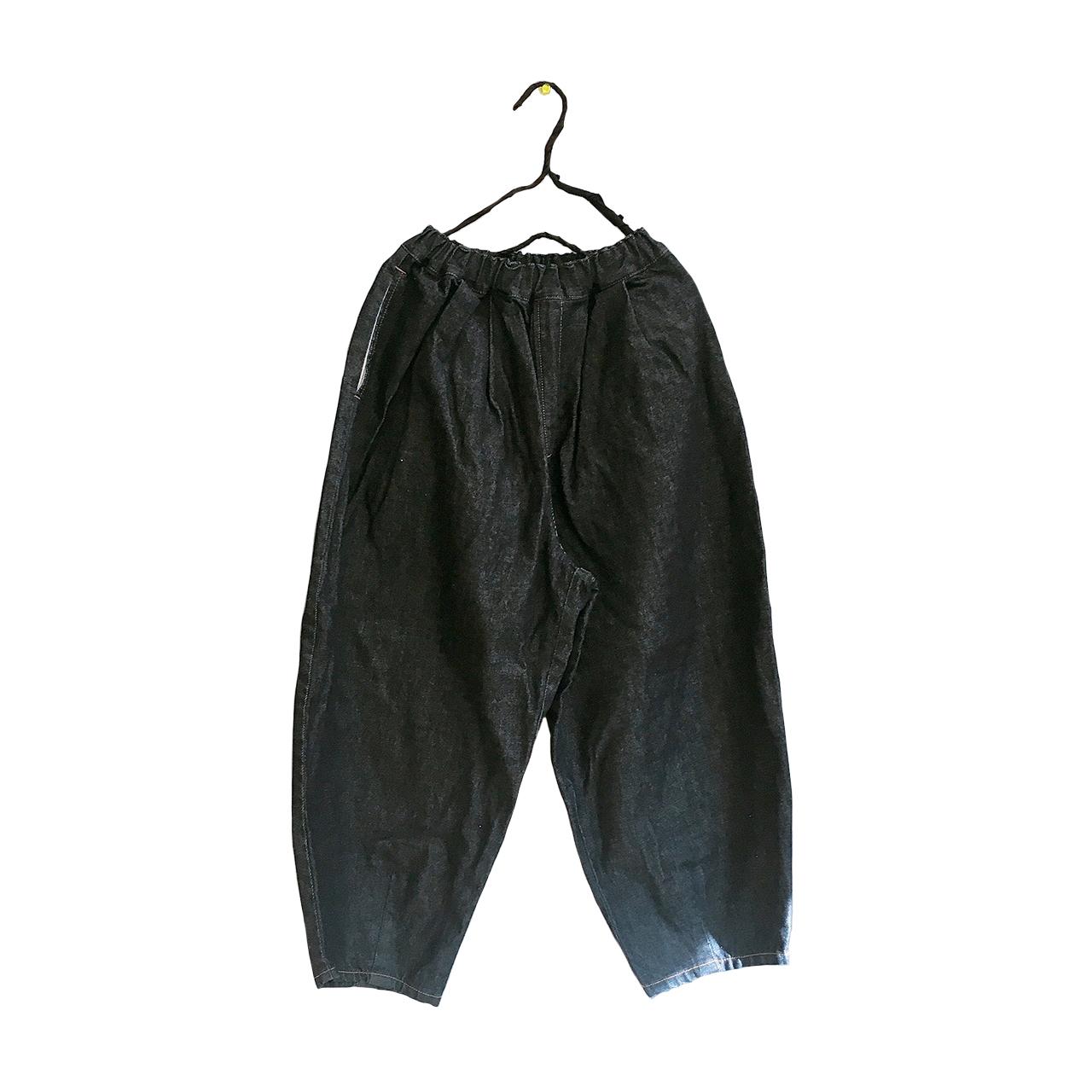 TEPERED DENIM PANTS / LL