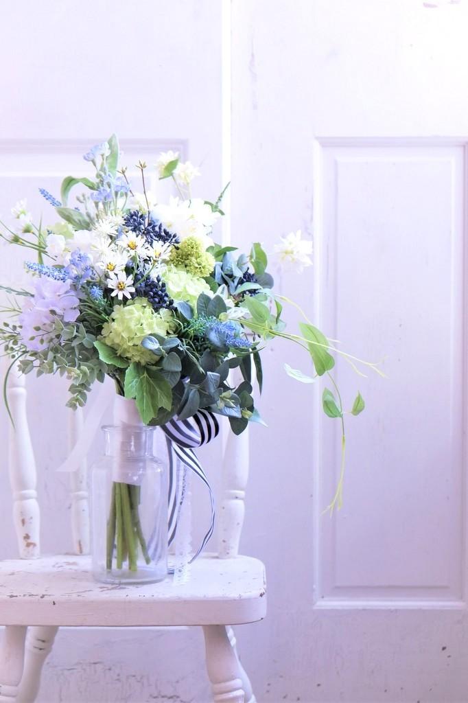 〖 オーダーメイド 〗アーティフィシャルフラワーのウェディングブーケ / 造花のブーケ・Sample Item No,6604277