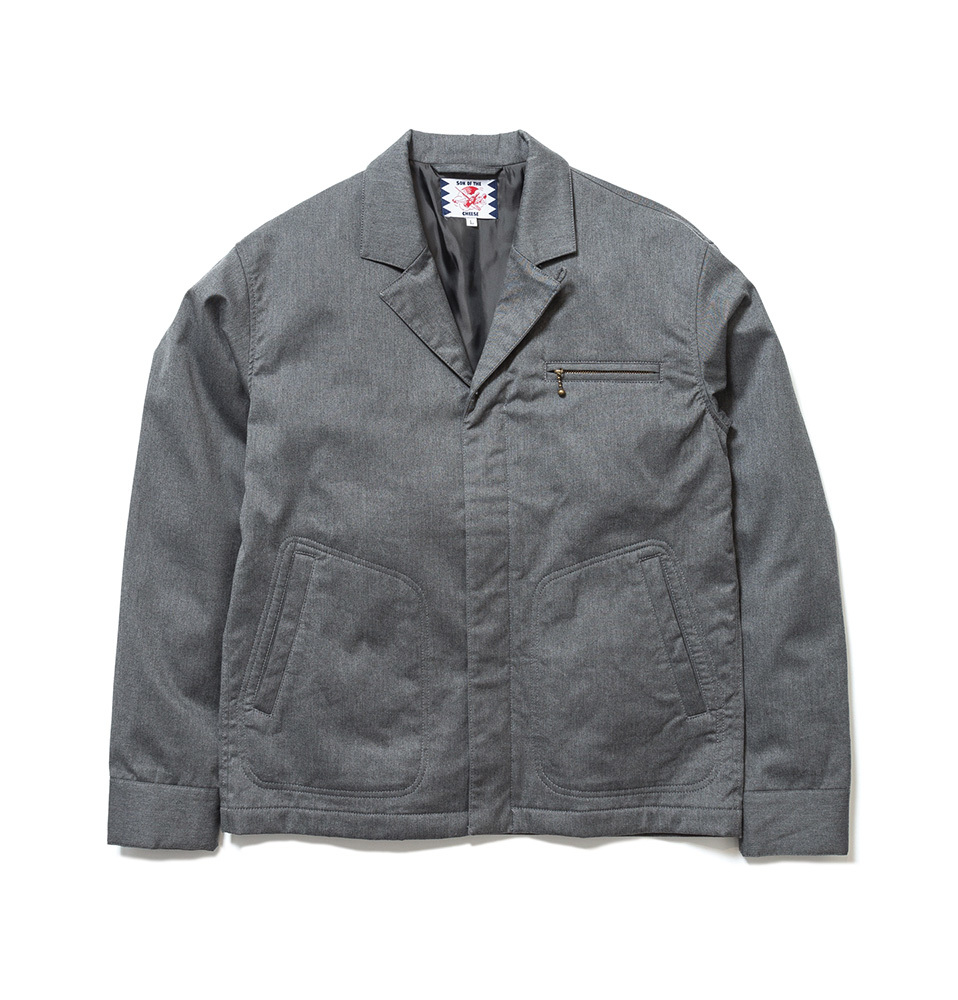 【SON OF THE CHEESE】TAKO JKT(GRAY)