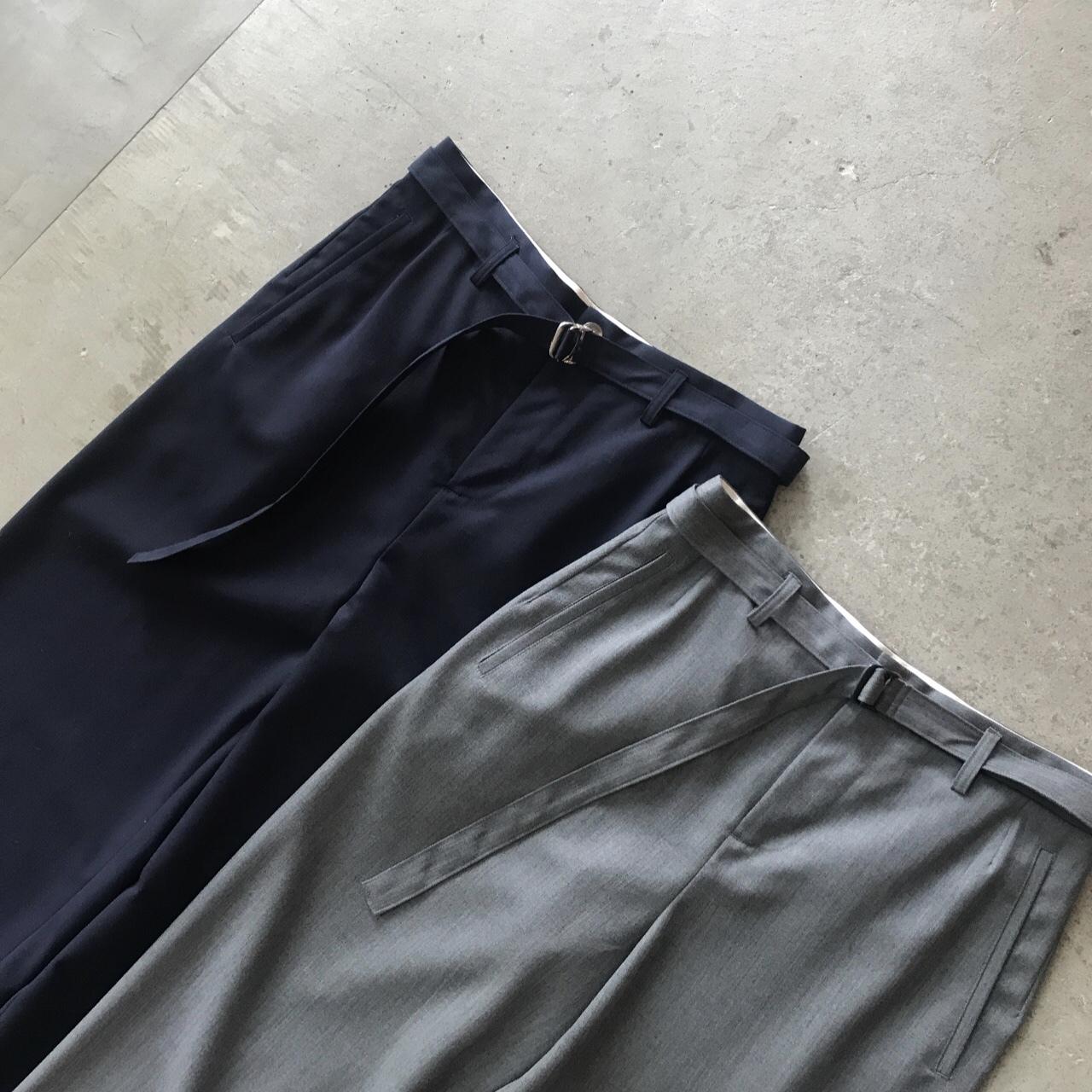DIGAWEL - BELT WIDE PANTS