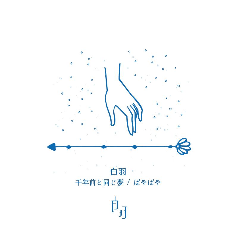白羽ミニEP「千年前と同じ夢 / ぱやぱや」