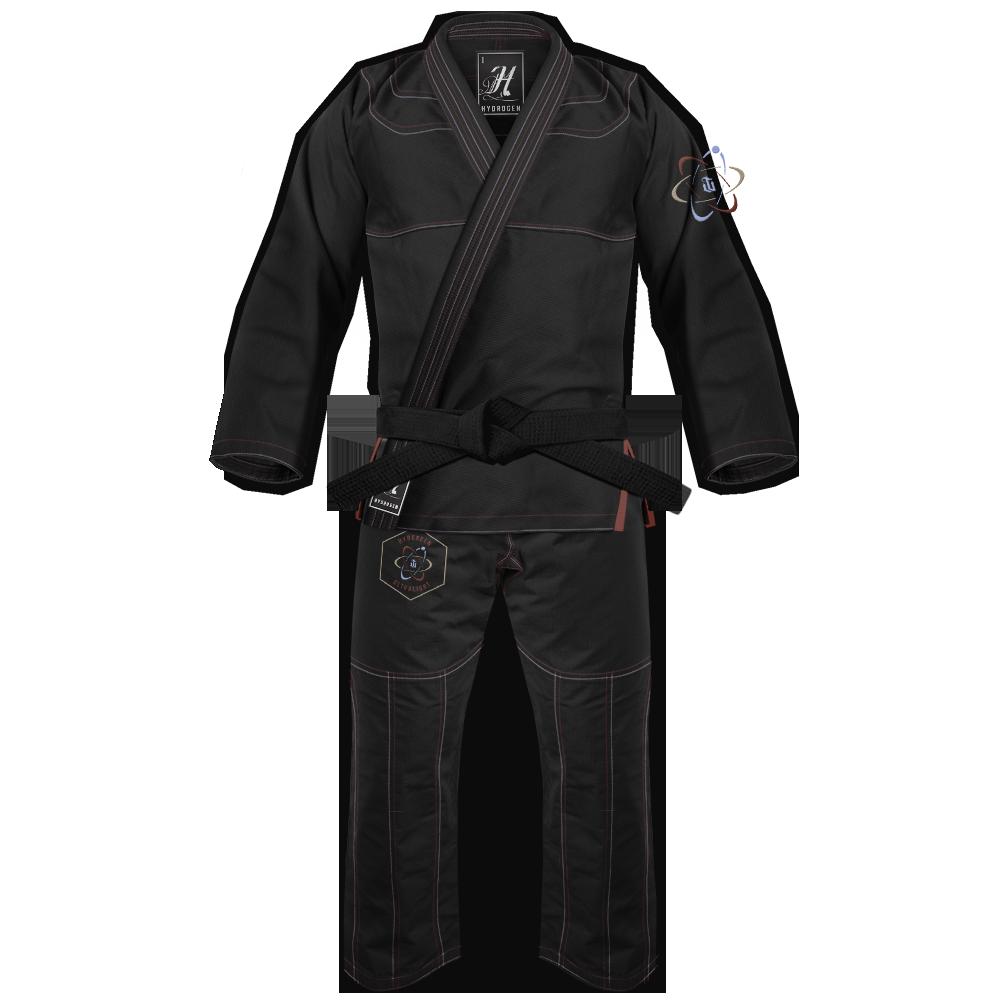 WAR TRIBE GEAR  Women's Hydrogen Gi ブラック 黒|女性用ブラジリアン柔術衣(柔術着)