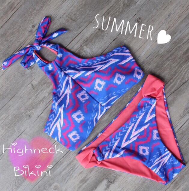 【即納】水着 ビキニ~Highneck Bikini~ 005
