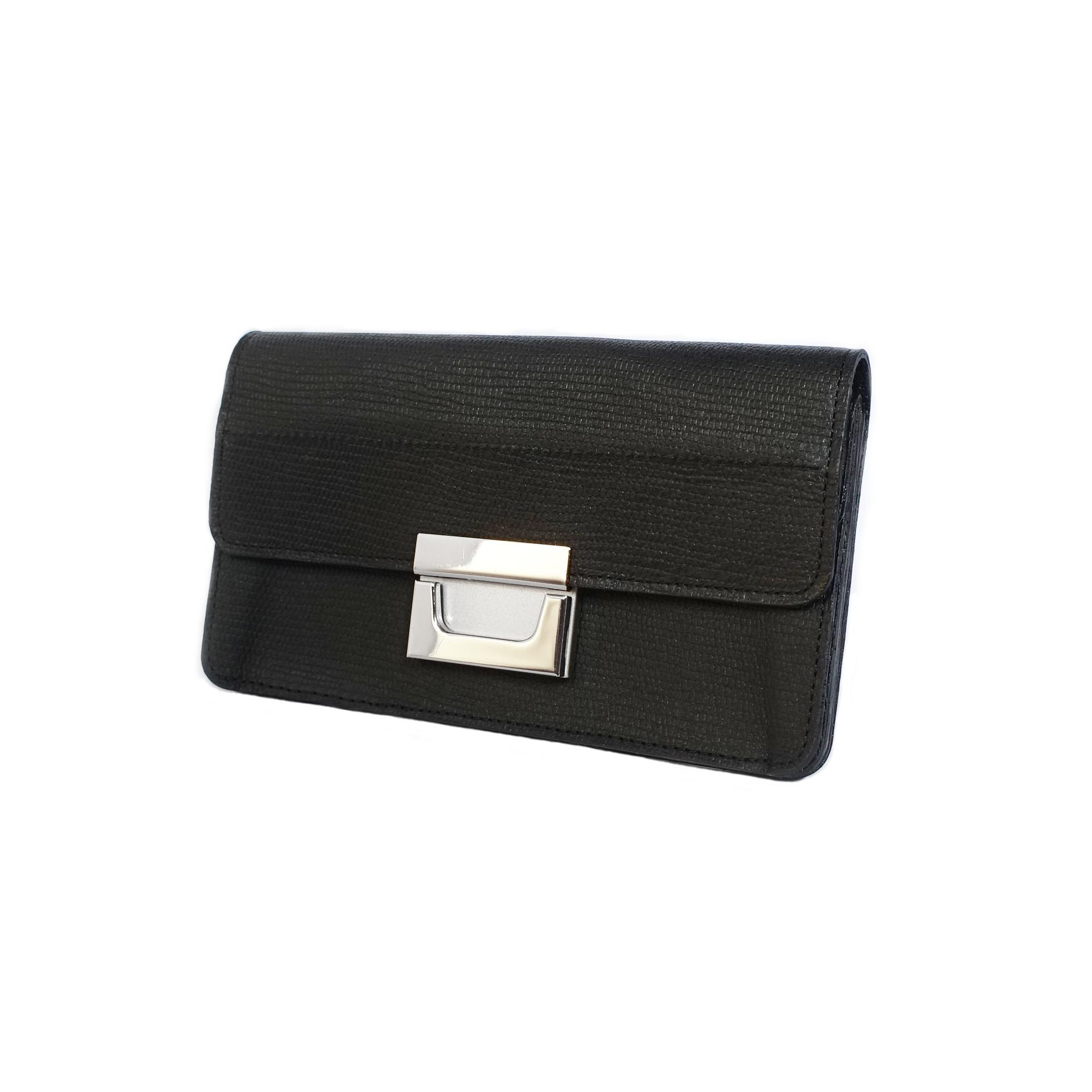 ■Garcon Long Wallet■ギャルソンタイプ長財布(ブラック)
