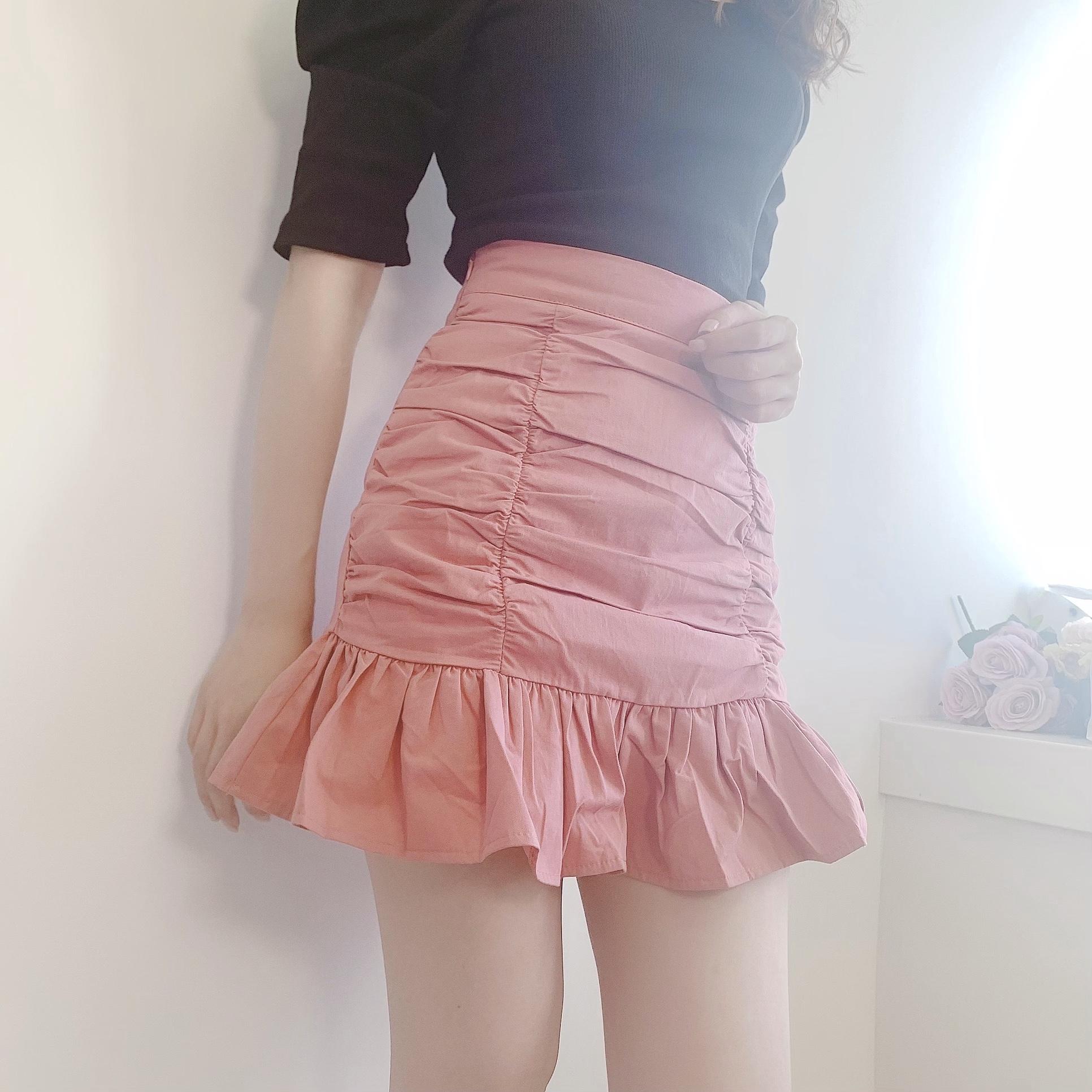 【即納】マーメイドミニスカート