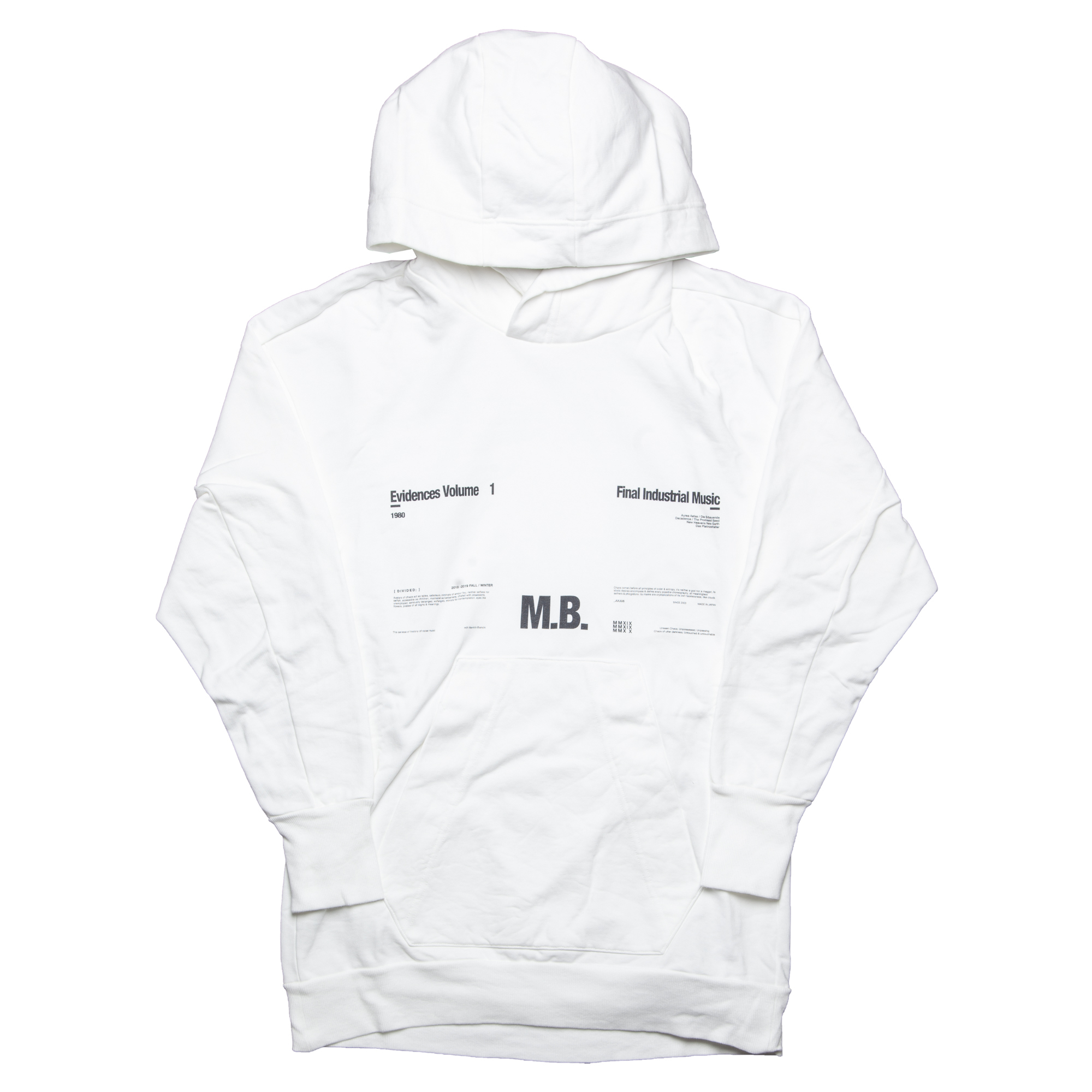 677CPM1-WHITE / M. B. ビッグフーディ