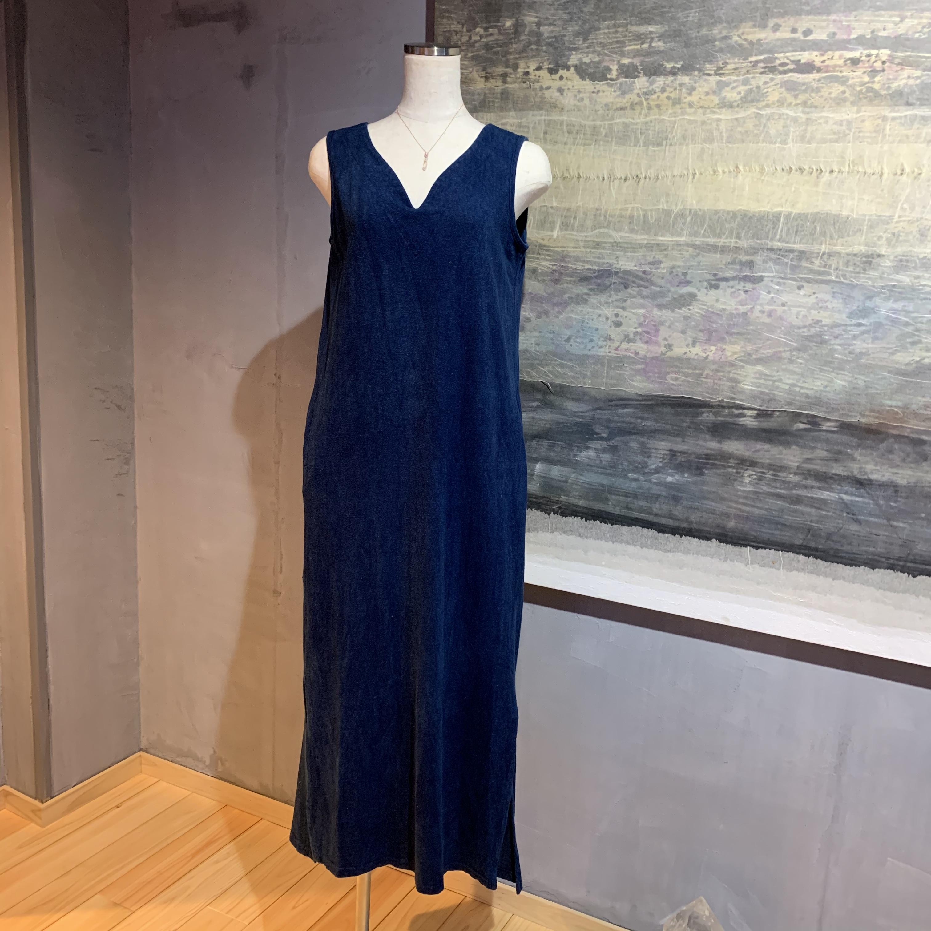 【先行販売価格】∞One Piece Dress∞ Hemp/OC Plain Woven Thin