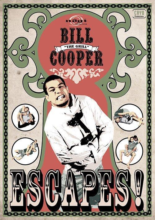 ビル・クーパー  エスケープス!DVD|ブラジリアン柔術テクニック教則