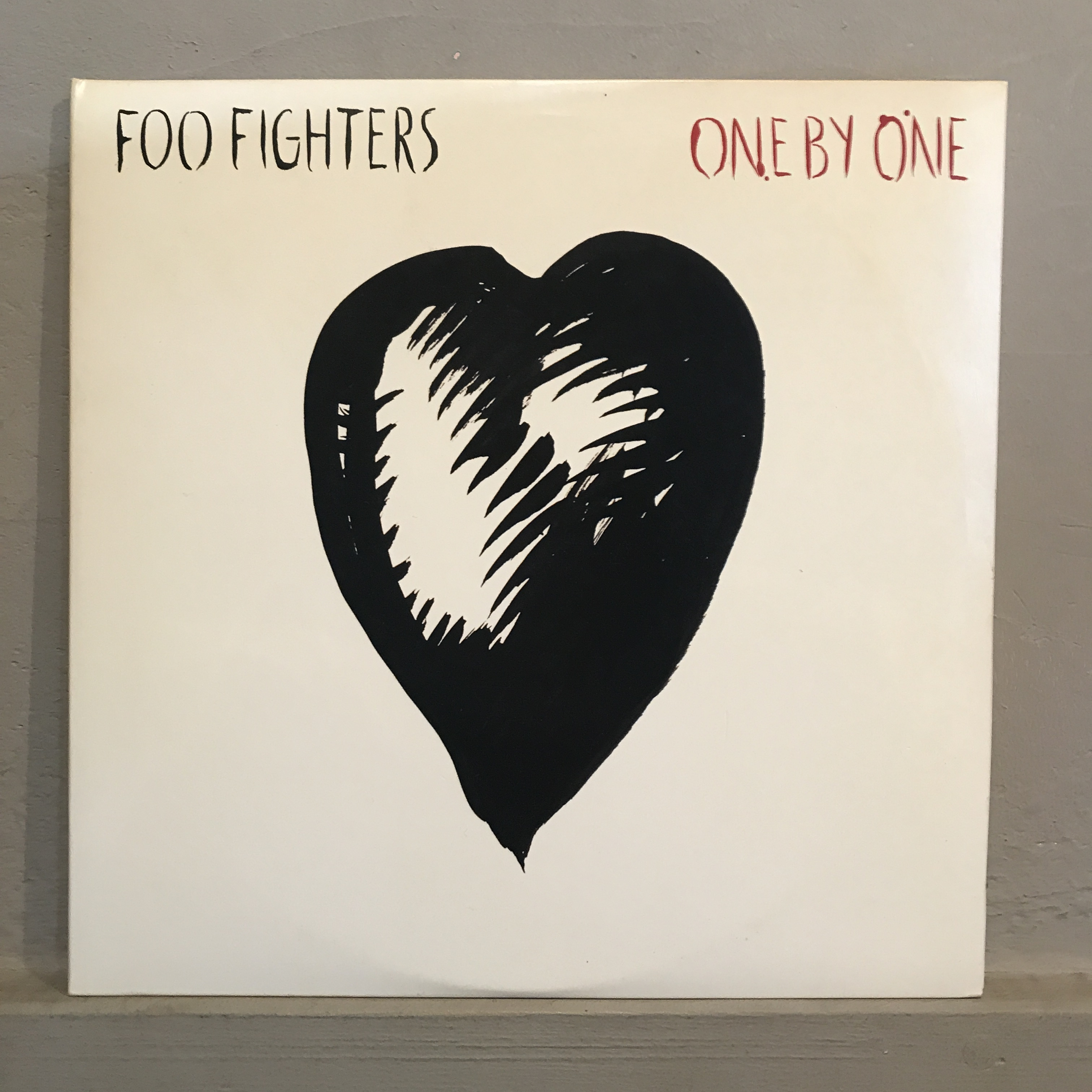 """●FOO FIGHTERS / ONE BY ONE(10""""x 2)"""
