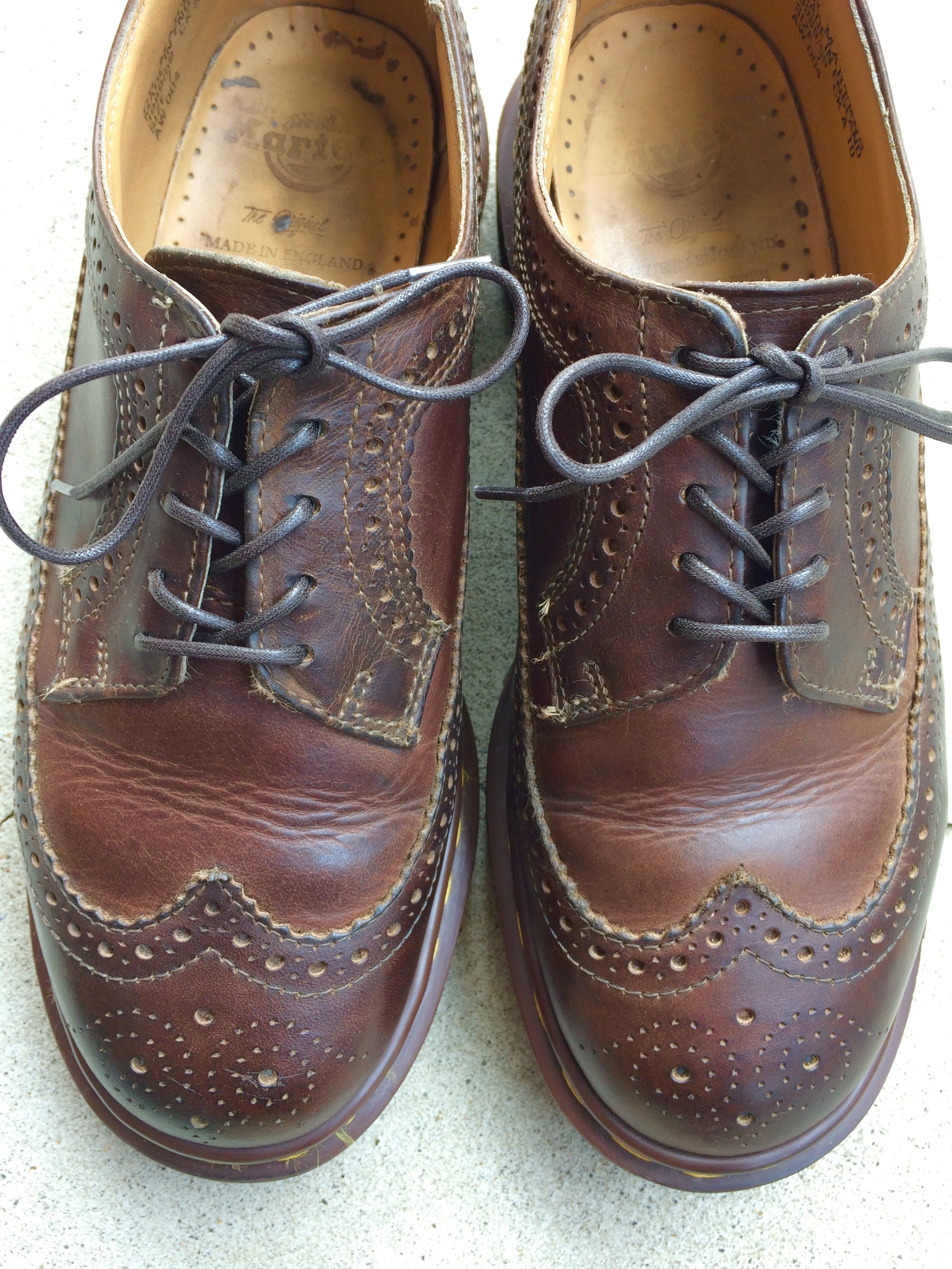 Dr.Martens wingtip Made in England 7