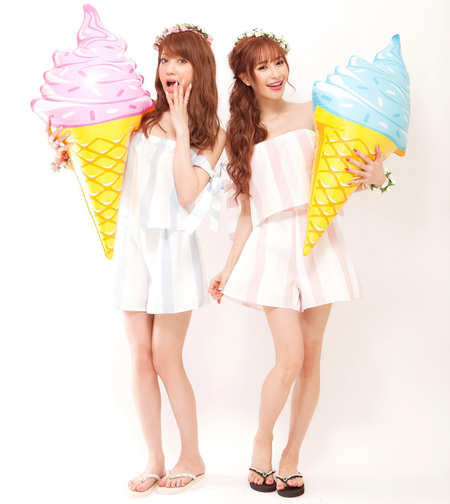 ソフトクリームアイスフロート♪
