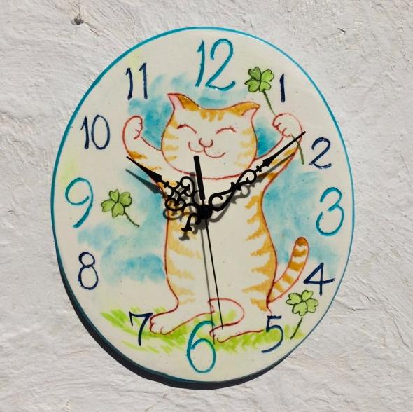 バンザイ元気猫(10cm)