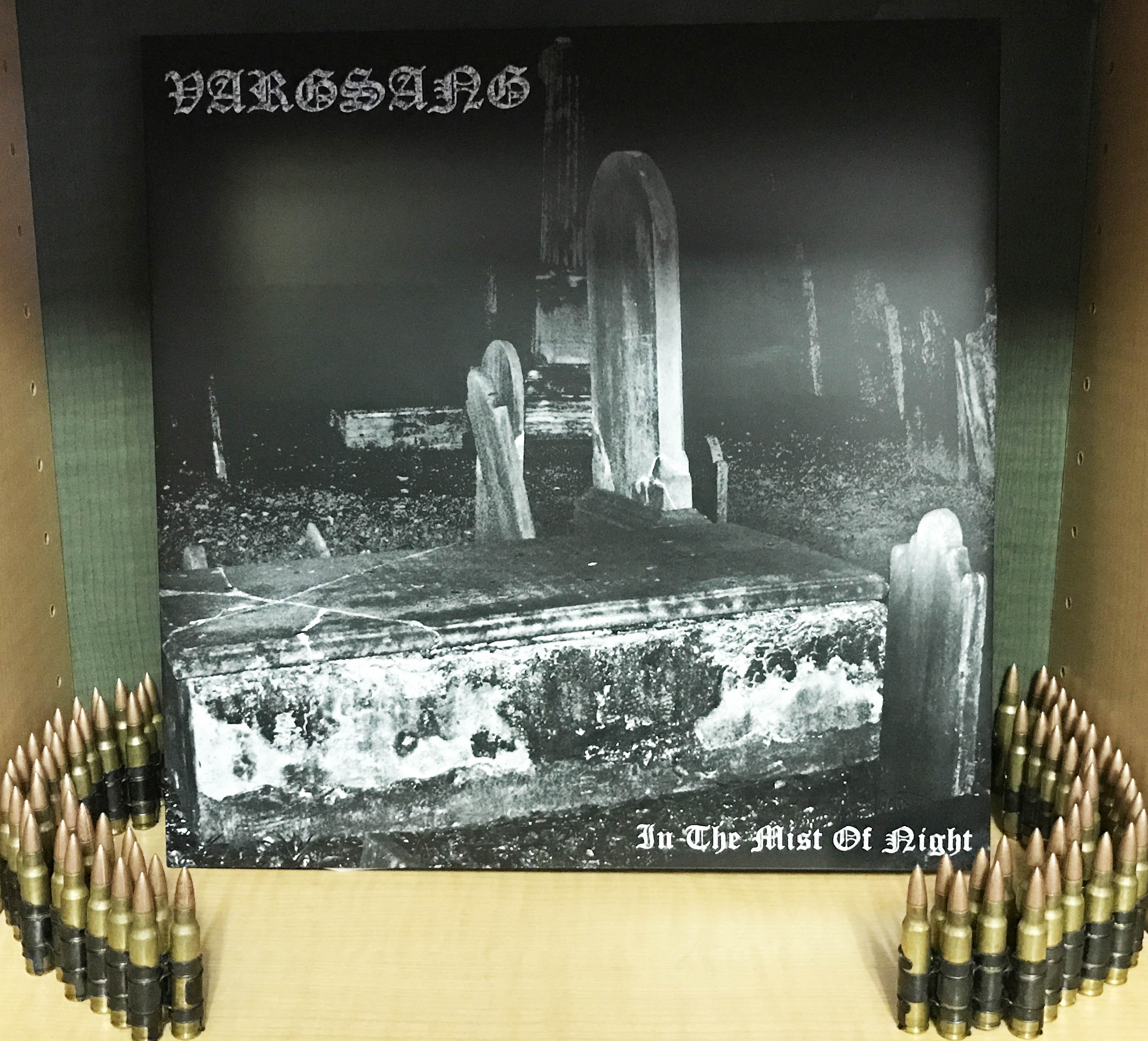 "Vargsang ""In the Mist of Night (Gatefold 12"" vinyl盤Black & White)"""