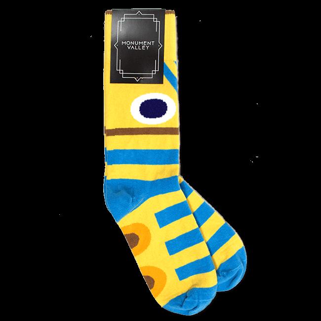 【Monument Valley(モニュメント・バレー) 】トーテム・靴下 - 画像1