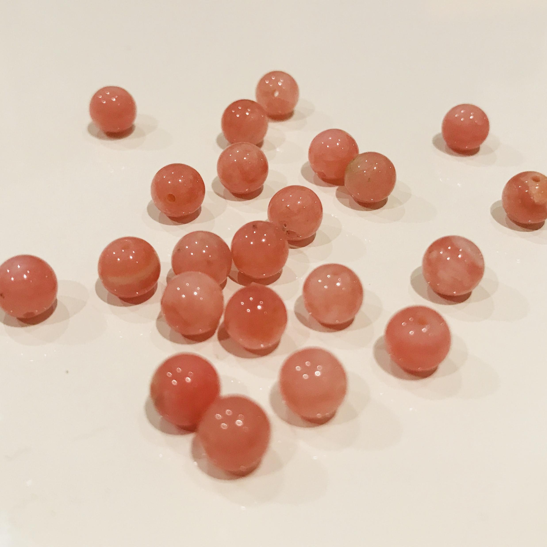 愛と魅力の石|ピンクオパール 6mm玉