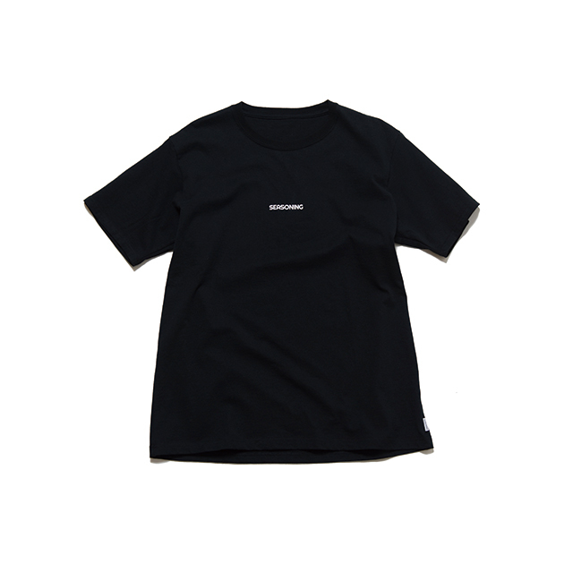 "SEASONING TEE ""Dinner"" - BLACK"