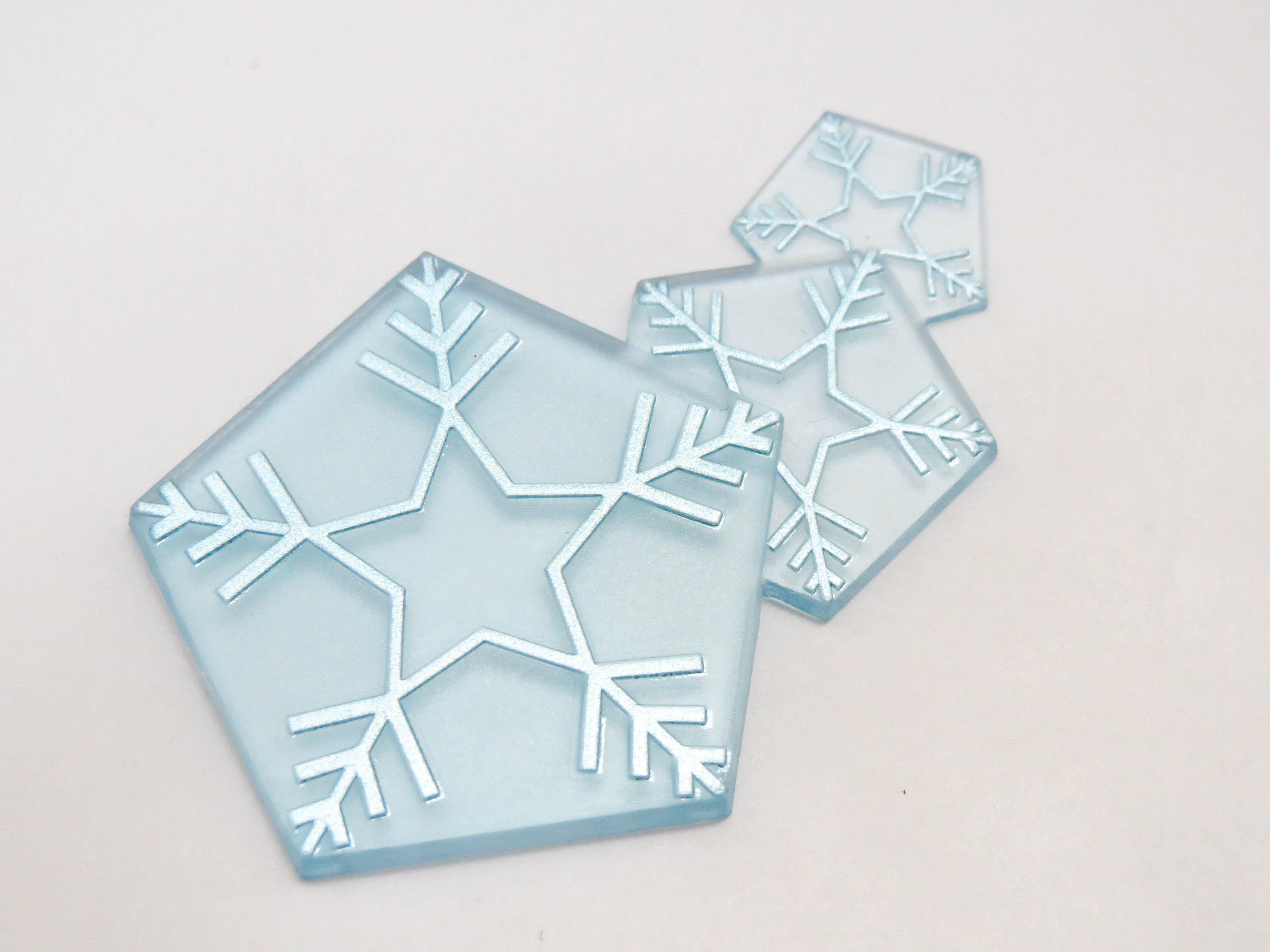 【701】 雪ミク Twinkle Snow Ver. 小物パーツ 氷のエフェクト ねんどろいど