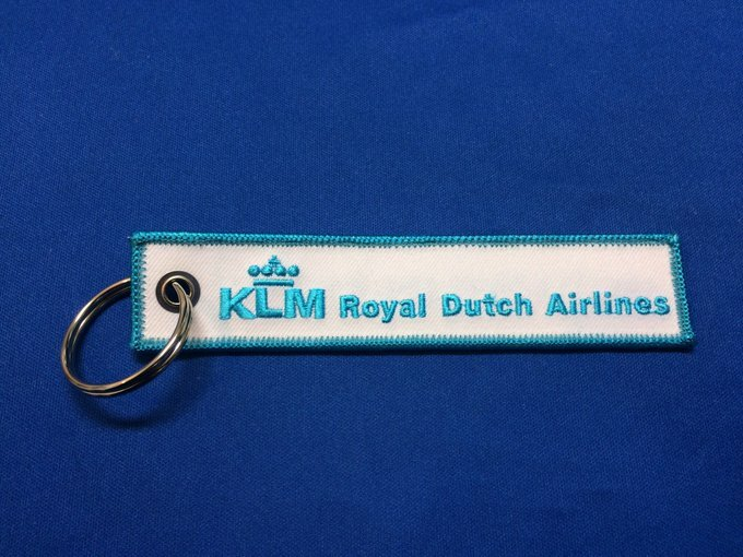 RemoveBeforeFlightキーホルダー/KLMオランダ航空