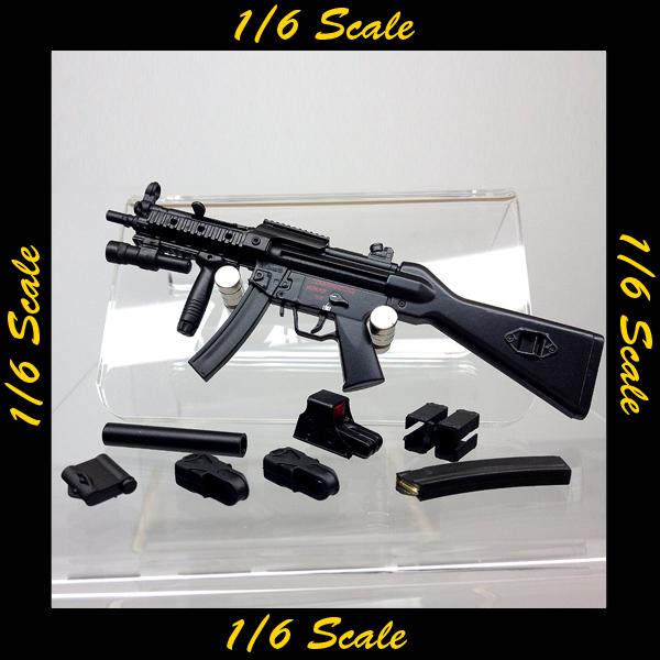 【01963】 1/6 ZYTOYS MP5A4 RAS サブマシンガン