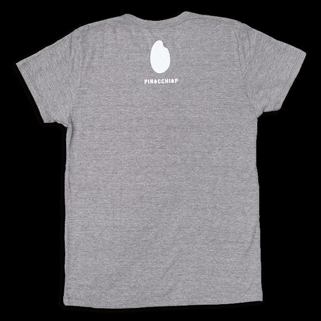 ピノキオピー 銀シャリTシャツ(レディース/玄米バージョン) - 画像2
