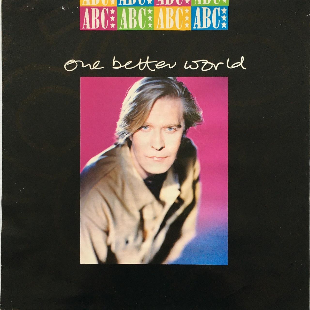【12inch・英盤】ABC / One Better World