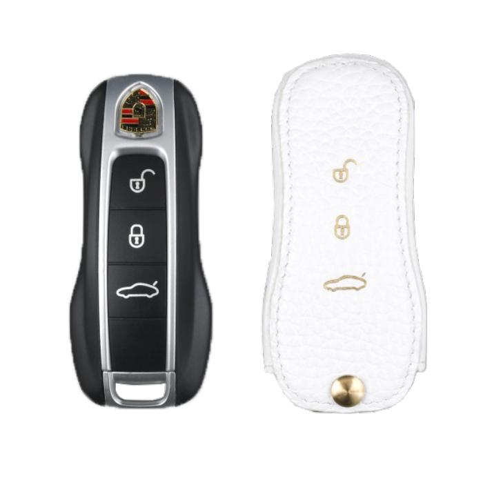 Porsche 専用 TypeA Car Key Case Shrink Leather Case