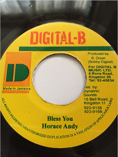Horace Andy (ホレスアンディ) - Bless You【7'】