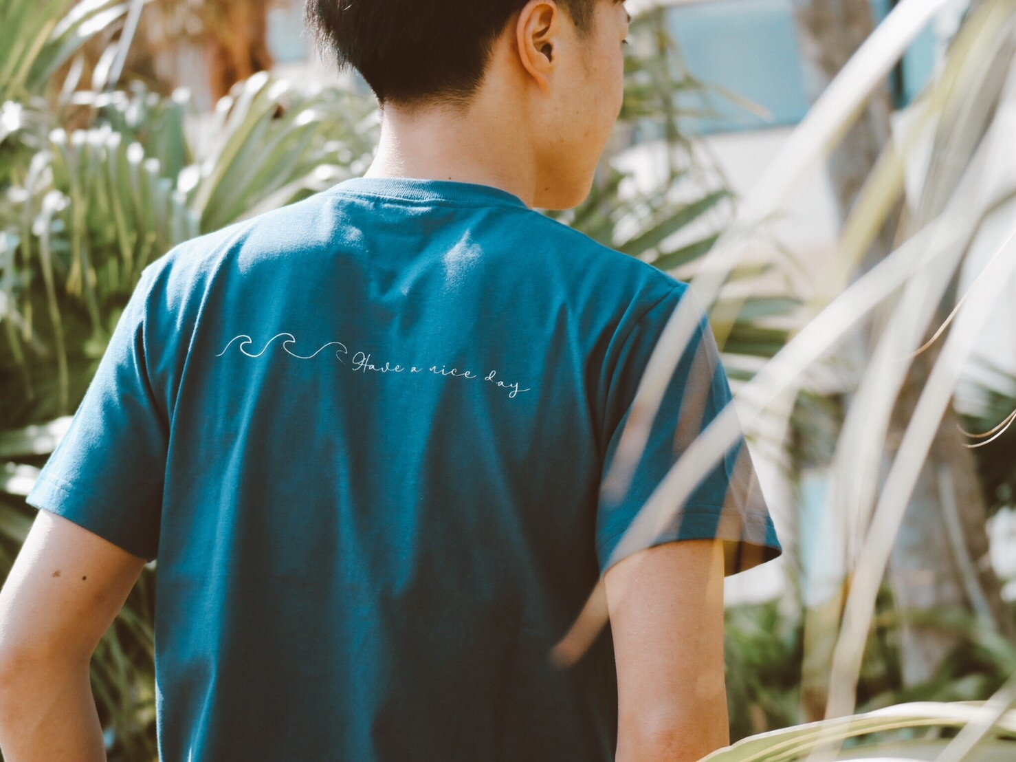 Have a nice day Tシャツ(navy)