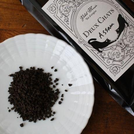 Assam100g Deux Chats紅茶リーフ