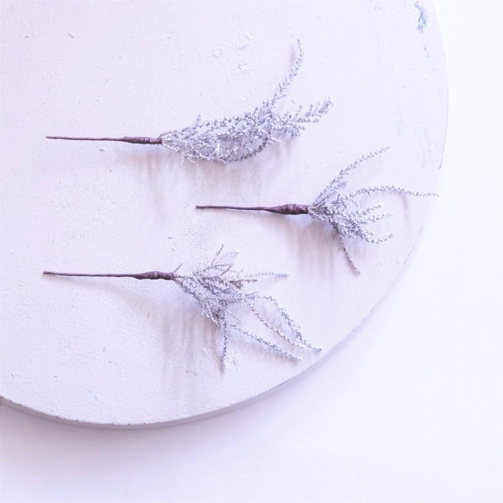 〖 ソフトストーベ のヘッドドレスパーツ3本 〗お好きなプリザ花材をカスタムメイドでお作り致します