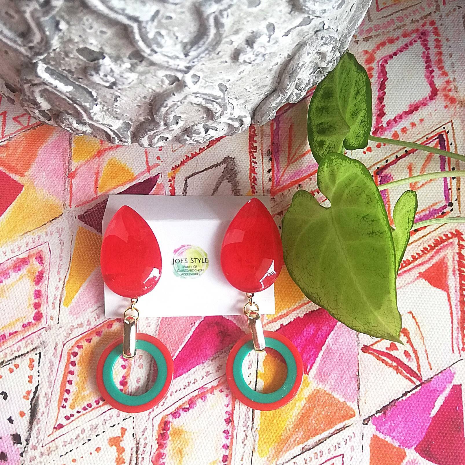""" Earrings NO.0-1942″KIMONO×フランスヴィンテージ"