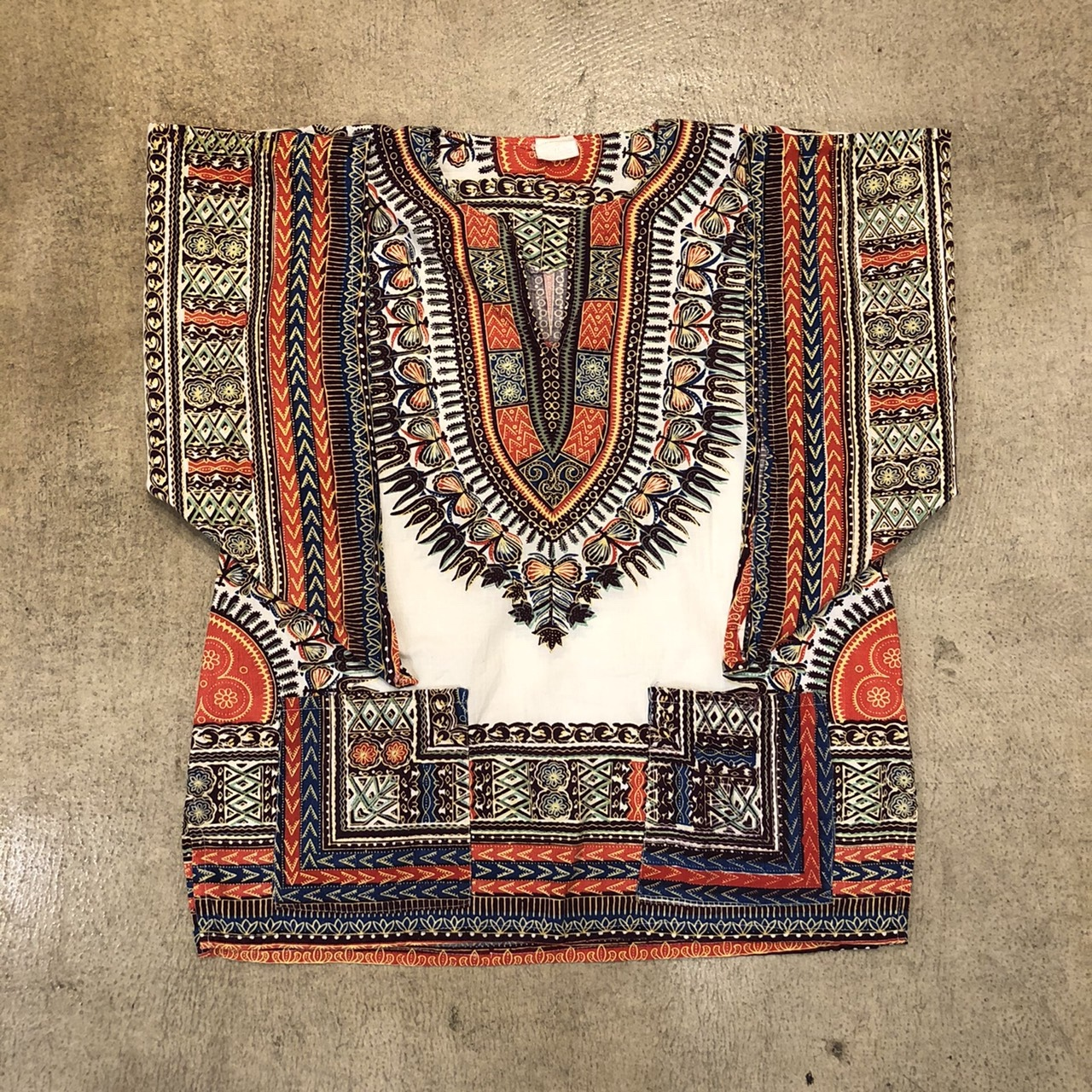 Ethnic Cotton Tops ¥6,300+tax