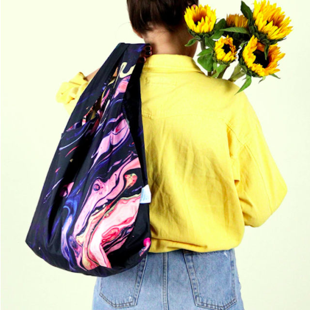 KIND BAG -LONDON- Eco bag Galaxy Reusable エコバッグ M