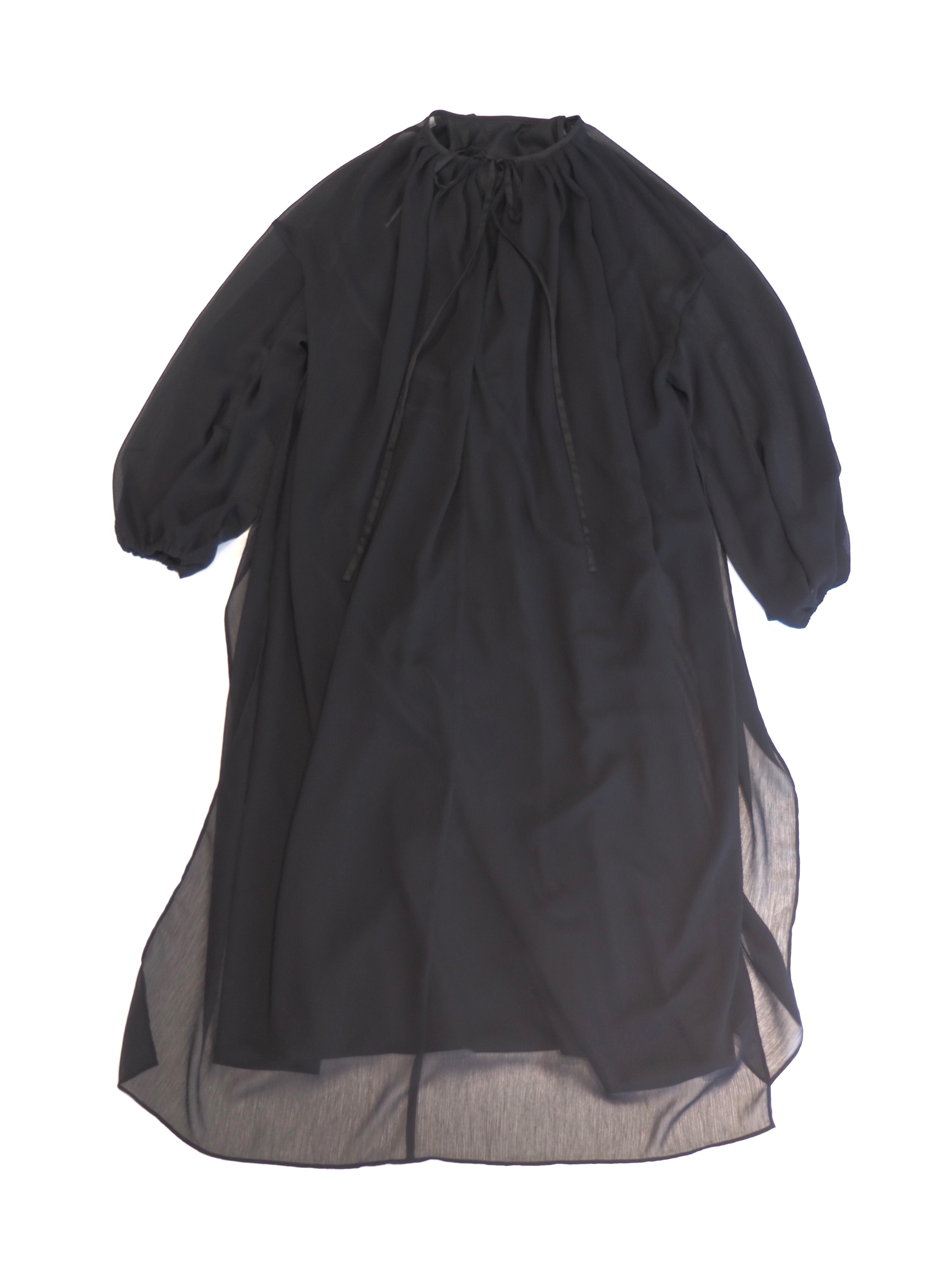 【ELIN】SHEER LAYERED DRESS