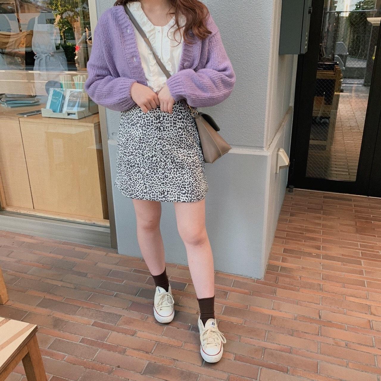 darumecian A line skirt