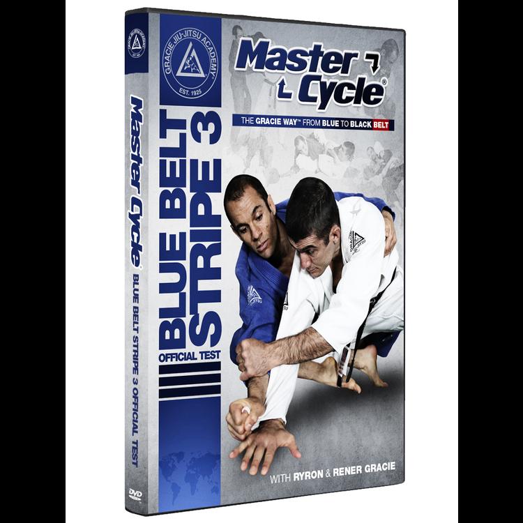 マスターサイクル:ブルーベルトストライプ3 オフィシャルテストDVD