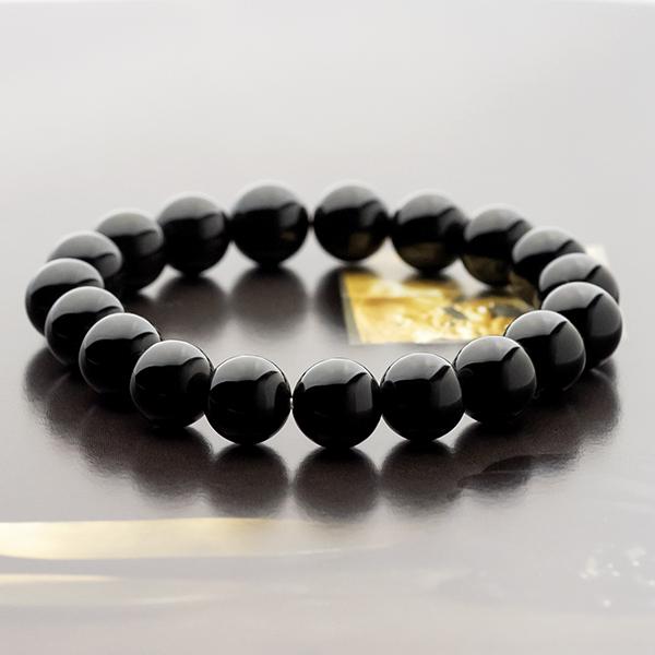 モリオン(黒水晶) 10mm パワーストーンブレスレット