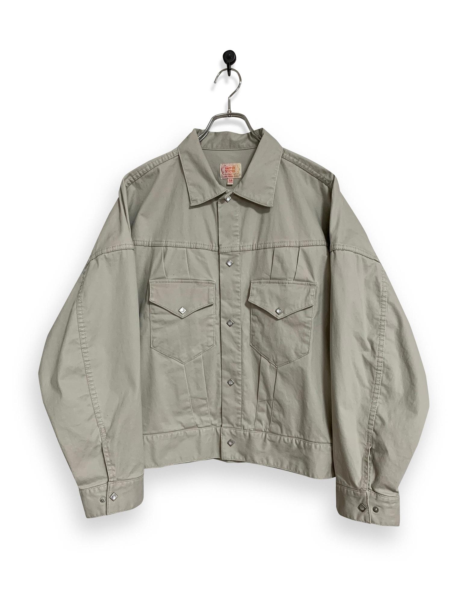 Satin Western Short Jacket / natural