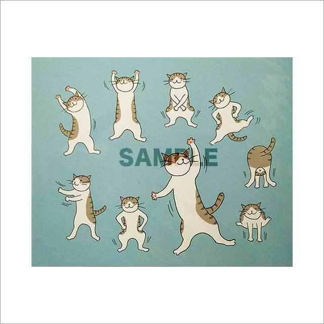 台湾ポストカード「貓咪操」